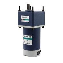 цена на 12V24V DC gear motor 90W miniature large torque slow permanent magnet motor gear small motor