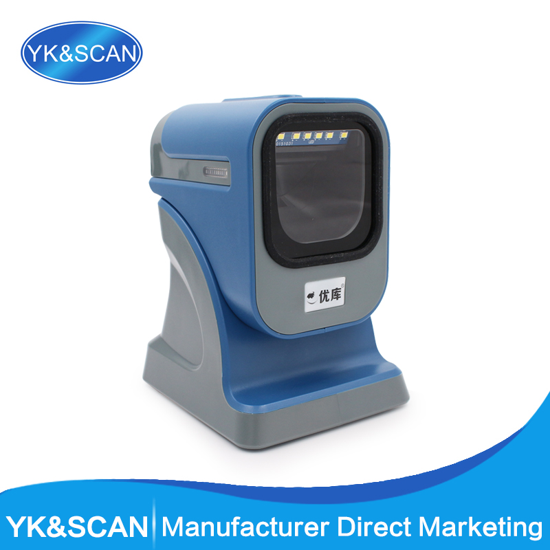 Image 2D Omnidirectional with USB/PS2/RS232 Barcode Scanner all kinds of bar code Free shipping ! For POS and inventory купить