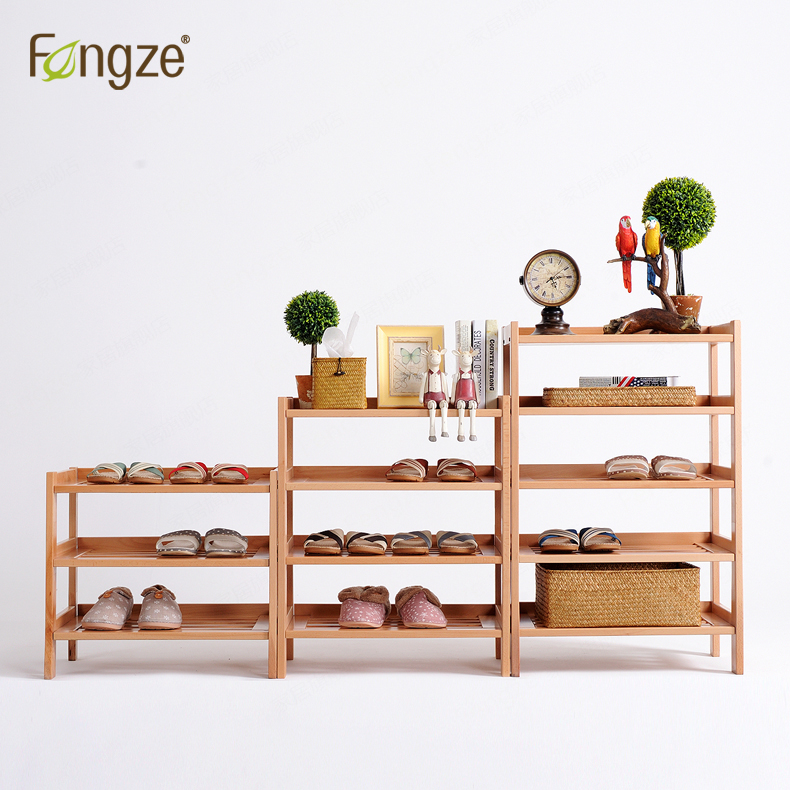 FengZe Furnishing FZ821 Modern Solid Wood Shoes Storage Multifunction Solid Wood Flower Rack Standing Plants Display Cabine fengze furnishing fz821 modern solid wood shoes storage multifunction solid wood flower rack standing plants display cabine