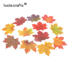 10pcs/50pcs 7cm Artifical Maple Leaves For Home Wedding Party Decoration Scrapbooking Craft Autumn Fall Leaf 086020068(China)