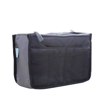 Organizer Insert Bag Women Nylon Travel Insert Organizer Handbag Purse Large liner Lady Makeup Cosmetic Bag Cheap Female Tote