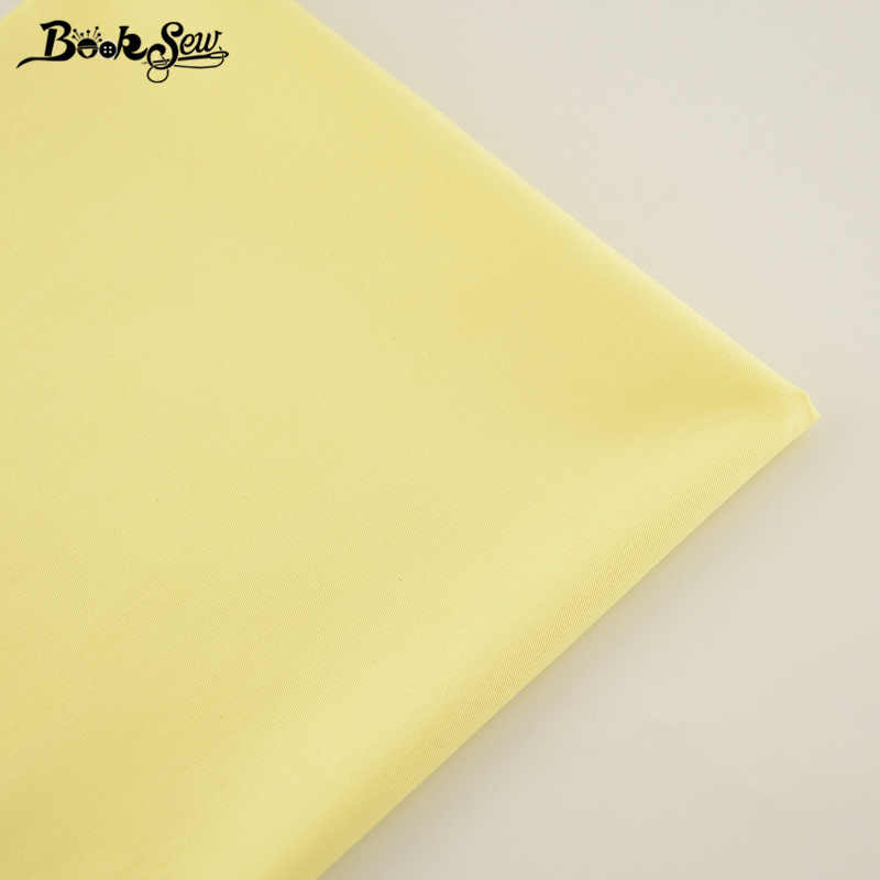 New 100% Cotton Fabric Pale yellow Designs Twill Fabric Home Textile Material Bed Sheet Quilting Tecido For Baby Patchwork Dolls