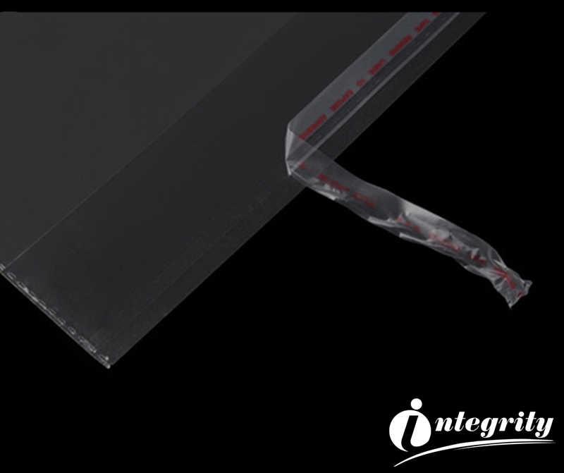 יושרה 500pcs שונים קטן גודל ברור עצמי דבק איטום פלסטיק Opp פולי סוכריות קוקי אריזה ניתן לאטימה חוזרת אריזת שקיות
