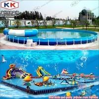 Parque de agua de atracciones  Stents equipo de juego de piscina  marco de piscina