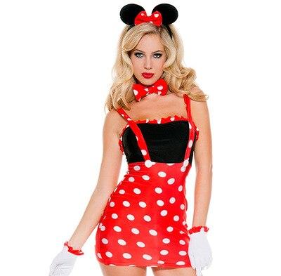 Мышь костюм принцессы Для женщин Хэллоуин Необычные платья партии Карнавал Сексуальные Косплэй вечернее шоу танец наряды 80818