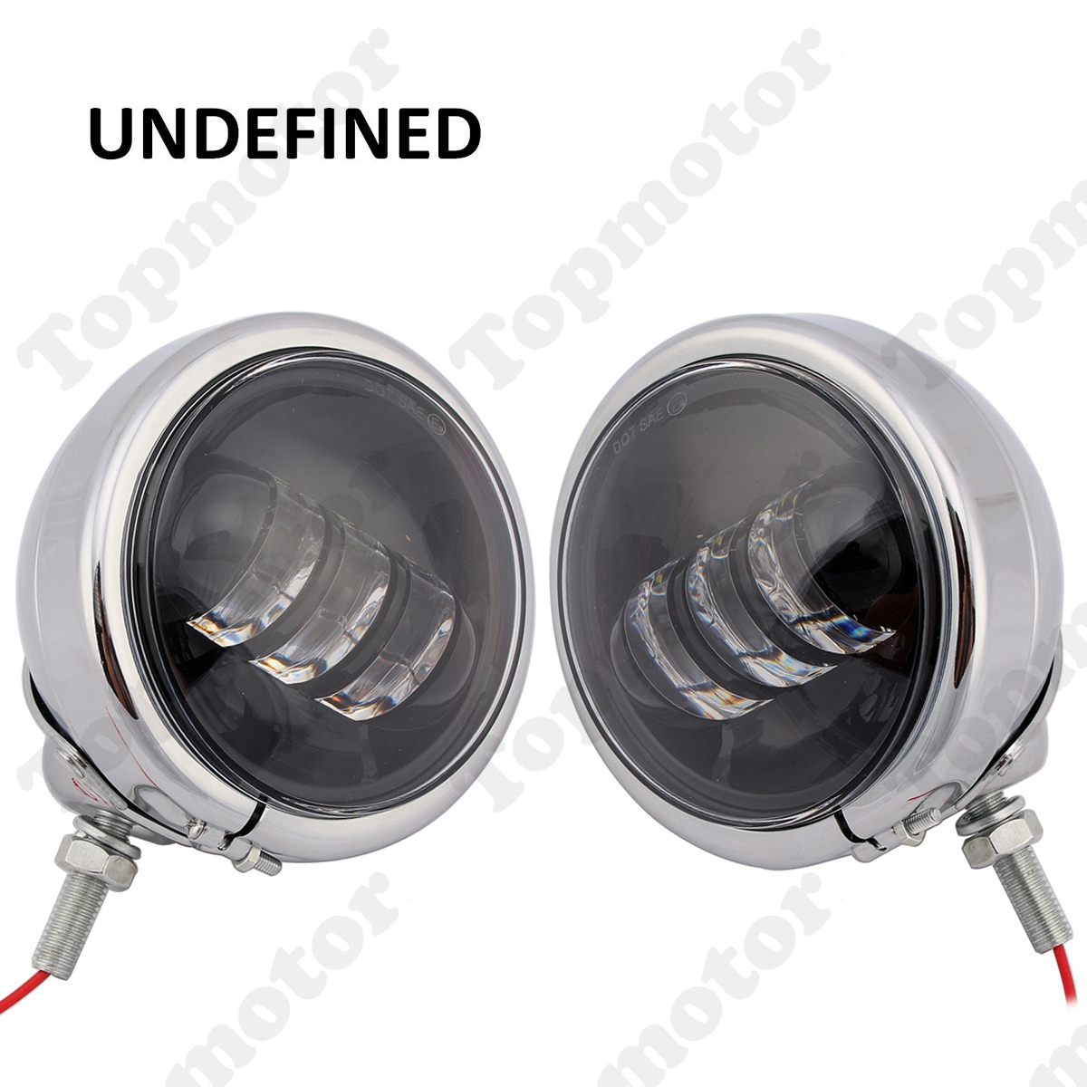 UNDEFINED 4 12 Chrome Motorbike Accessories LED Auxiliary Fog Passing Light Lamp For Harley Touring FLHR FLHX FLHXS FLHXXX