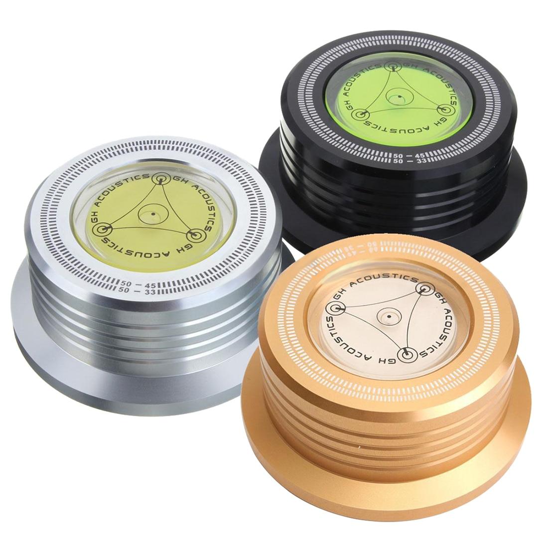 CHAUDE 3 couleurs aléatoire Pince LP Stabilisateur de Disque Platine Pour Vibrations Équilibrée
