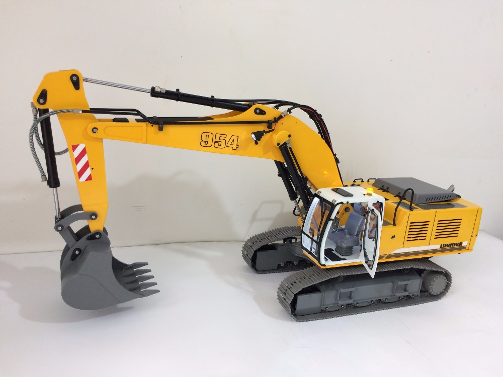2018 new 1 12 remote control hydraulic excavator lh954. Black Bedroom Furniture Sets. Home Design Ideas