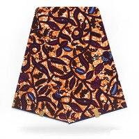 Fashionab design dutch wax fabric style with African wax fabric high grade Organic fabric 6 yards/for dutch party,ornament F93 2