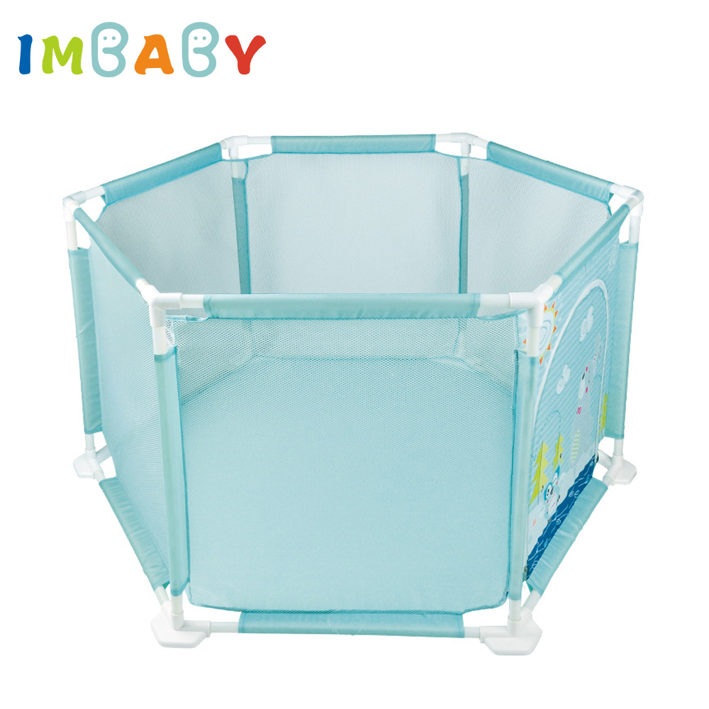 IMBABY Plastic Baby Playpens For Kids Baby Fence Pool Balls Children s Tent For Baby Safety