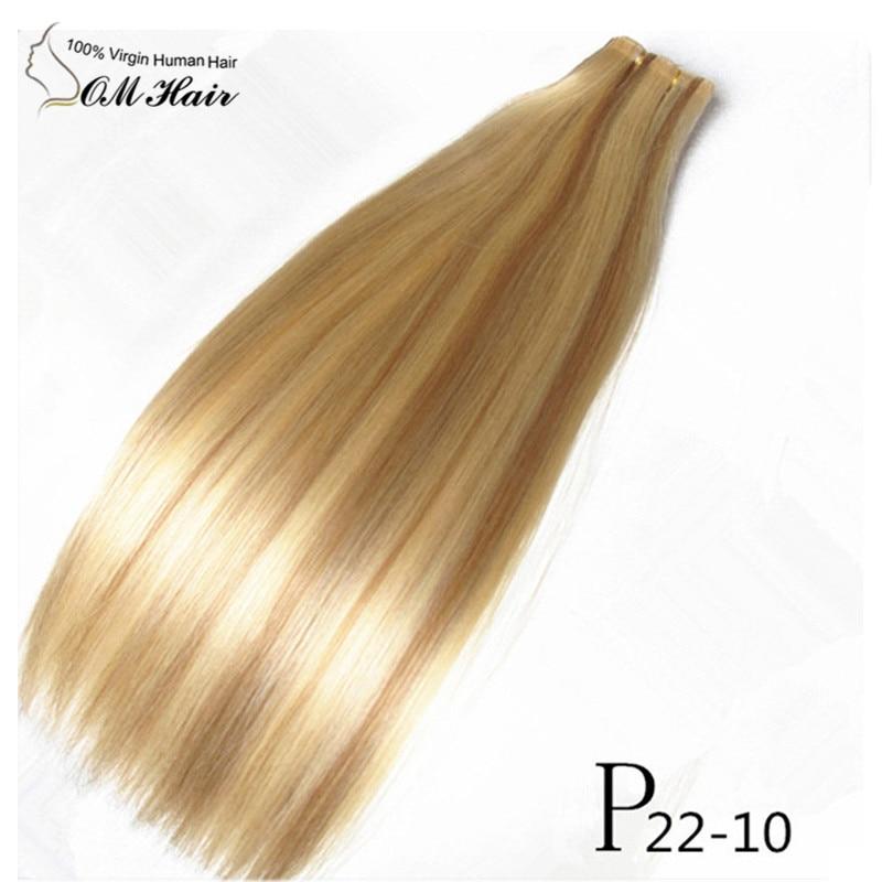 European Hair Hand Tied Pu Skin Weft Hair Weaving Tape Hair