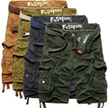 Men's Shorts New Style Fashion 2017 Army Combat Trousers Tactical Solid Work Pocket Shorts for Men