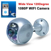 Smart H.264 voice alarm reminder + red light flashing 2MP 1080P P2P wifi Camera Onivf support for Hikvision and dahua NVR