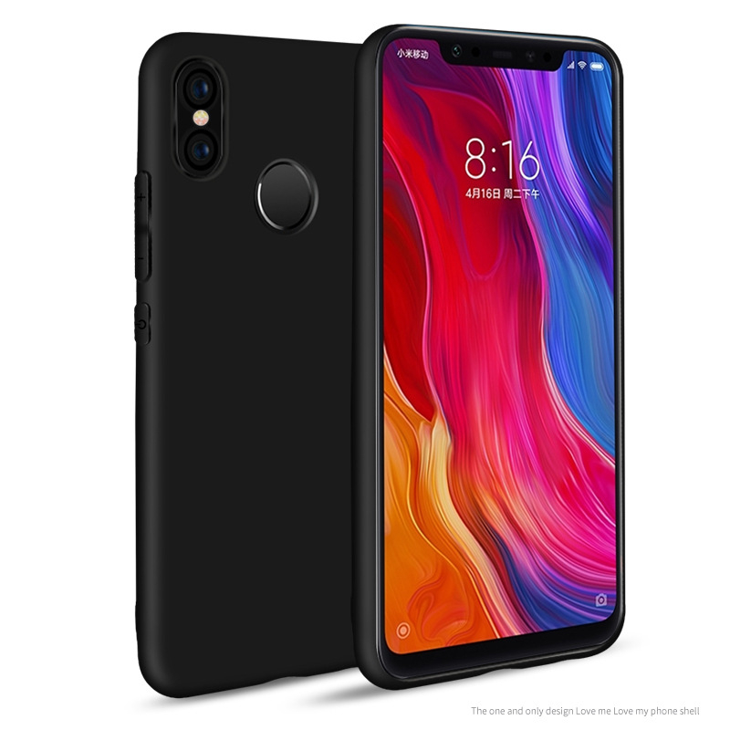 Silicone Phone Case For Xiaomi Mi Max 3 2 Note 3 Mix 3 Lightweight Cover For Xiaomi Mi A1 A2 5 6 5S 8SE Case DYee in Fitted Cases from Cellphones Telecommunications