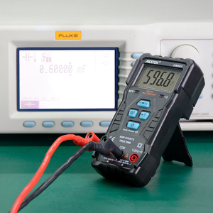 Image 5 - Mestek dm90s multímetro inteligente completo de alta velocidade ncv verdadeiro rms digital automático anti queima portátil universal multímetro