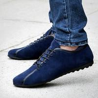 MUQGEW Fashion Breathable Walking Shoes Couple Men's Sport Peas Flat Shoe Lace Up Light Casual Sneakers #17