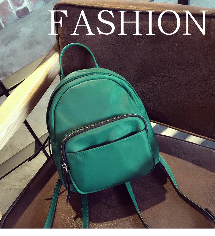 5495cffce5b1 Для Женщин Простой Оксфорд маленький рюкзак подростков обувь для девочек  мини Bagpack Back Pack тонкой плечевой ремень школьные ранцы Mochila Escolar