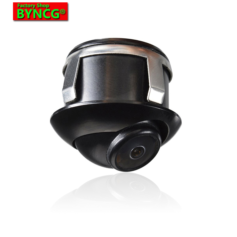 BYNCG 360 Perigon Universal Night Vision Waterproof HD CCD Rearview Camera Omnidirectional View Camera Camera All Car Parking