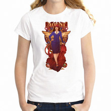 T Shirt da donna Agente Carter Artwork Stampa della ragazza Tee(China)