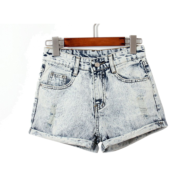 Керлинг отверстие джинсовые шорты джинсы джинсовые шорты для женщин 2015 летний мода новый