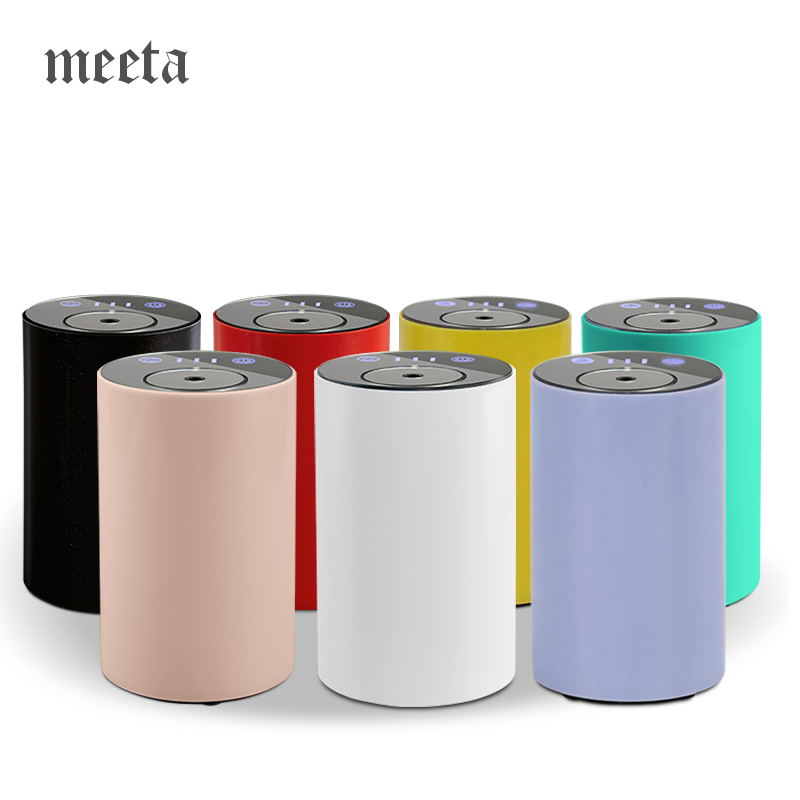 Waterless Aroma Essential Oil Air Diffuser Usb Auto Aromatherapy Nebulizer Rechargeable And Portable For Car Home Office Yoga