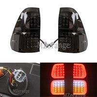 Mzorange 32x38 см автомобиля задние стоп сигнальные фонари лампы Копченый светодиодный ABS для Toyota Hilux Vigo Revo задний свет 2016 2018 легко установить
