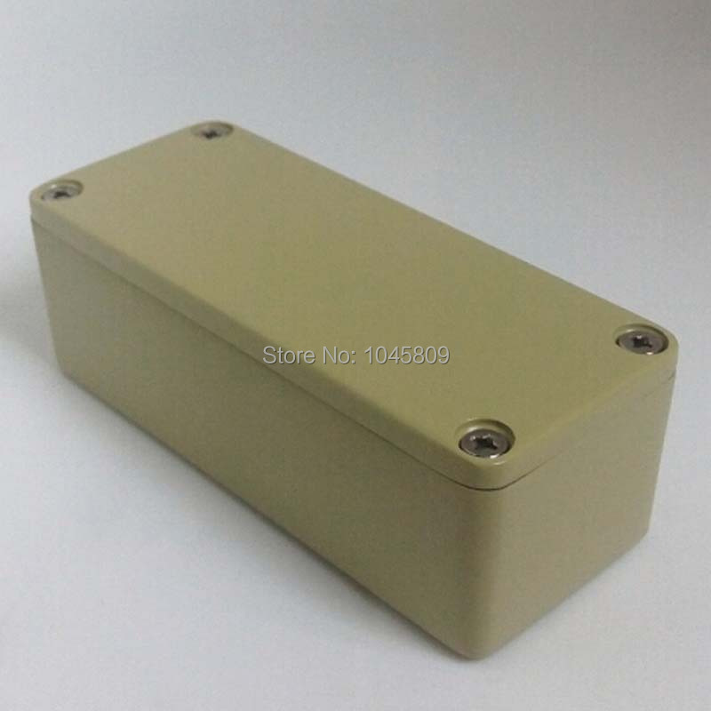 5PCS/LOT 1590A Diecast Metal Enclosure Pedal Stomp Case ...