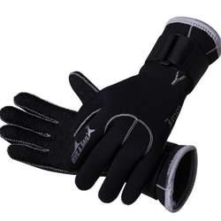 3 мм неопреновое оборудование для ныряний перчатки Плавание перчатки оборудование для подводного плавания Anti Scratch Утепленная одежда