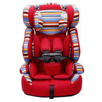 5 Point Harness Thick Bottom Kids High Chair Safety Car Seats Luxury Infant Child Chair Car Kids Car Booster Seat Soft Portable
