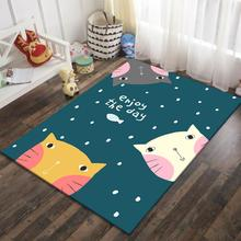 Kids Carpets Cute Rugs Living room Bedroom Kitchen Rugs Floor Mat Bedside Study Floor Door Boys Girls Kids Baby Climbing Mats