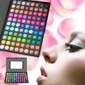 2016 Nueva Pro Sexy 88 Color Cálido Mate Impermeable Ahumado de Sombra de Ojos Paleta Maquiagem Naked Paleta de Maquillaje Kit de Cosméticos con Espejo