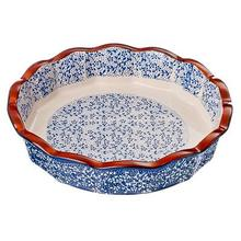 Baking dish and serving ROUND,CERAMICS,22H22H4,5SM, 2 COLOURS kitchen,tableware,home,woman,gift,tools,kids,high quality 826-231