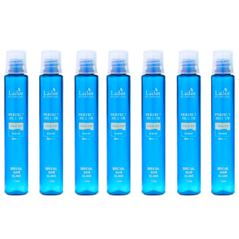Best Korea Cosmetics LADOR Perfect Hair Fill-Up 7pcs Protein Hair Ampoule Keratin Hair Treatment Best Hair Care Products