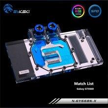 Bykski Full Coverage GPU Water Block For GALAX GTX660 Graphics Card N GY66BK X