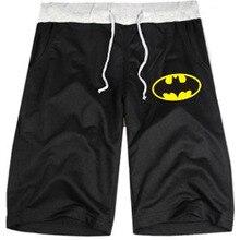XXS-4XL Couple Men Women Batman Shorts Leisure Bermuda Hip Hop Shorts Breathable Sweatpants Five Points Men's Loose Shorts