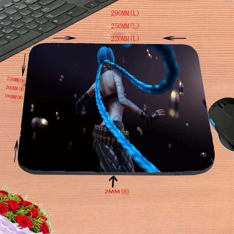 Mairuige Pattern LOL Designs Mouse Pad Gaming Or Office Mice Play Mats League of Legends Mouse Pad Gamer Rectangle Table Mats