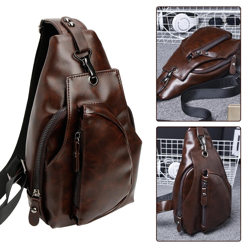 Men's Crossbody Bags Chest Bag Designer Messenger Bag Leather Shoulder Bags Package Pack Travel