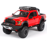 Maisto 1 24 2017 Red Blue Black F 150 Partor Pick Up Big Truck Model For