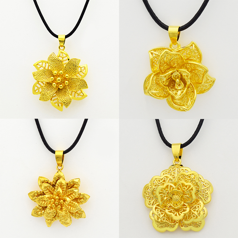 2016 mix 4 style gold mandala rose indian flower pendant necklace 2016 mix 4 style gold mandala rose indian flower pendant necklacefashion jewelry for womenrope chainornament design in pendant necklaces from jewelry aloadofball Choice Image