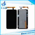 1 piece/lot black free shipping tested new replacement repair parts for HTC ONE X G23 S720e lcd display+touch screen digitizer