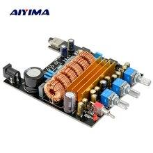 Aiyima TPA3116 2.1 HIFI Digital Audio Amplifier Board Personal DIY 50Wx2+100W mini Subwoofer amplifiers