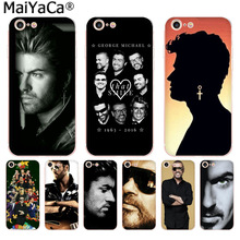 MaiYaCa george michael Colorful Phone Accessories Case for iPhone