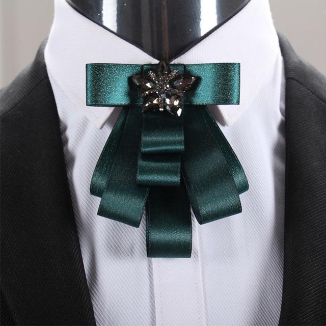 fd40dee8a97a Mantieqingway Business Bow Tie Tuxedo Bowtie Cravat for Groom Wedding  Bouquet Fashion Polyester Bow Ties for Men Blue Gravata