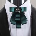 Mantieqingway Tuxedo Bowtie de la Pajarita Corbata de Negocios para el Novio de la Boda Del Ramo de la Moda de Poliéster Pajaritas para Los Hombres Azul Gravata