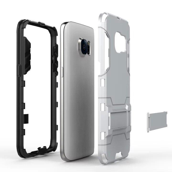 Soporte a prueba de golpes Duros Cajas Del Teléfono para Samsung Galaxy Caso Bor