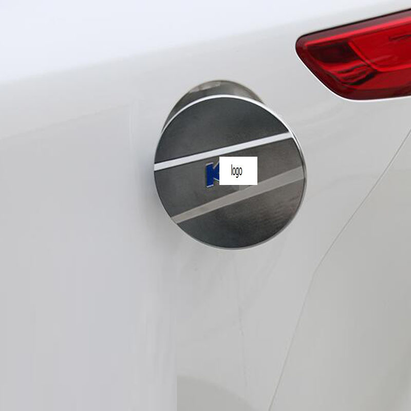 New Car Parts Accessories Gas Tank Cover Chrome Fuel Oil Tank Cap ...