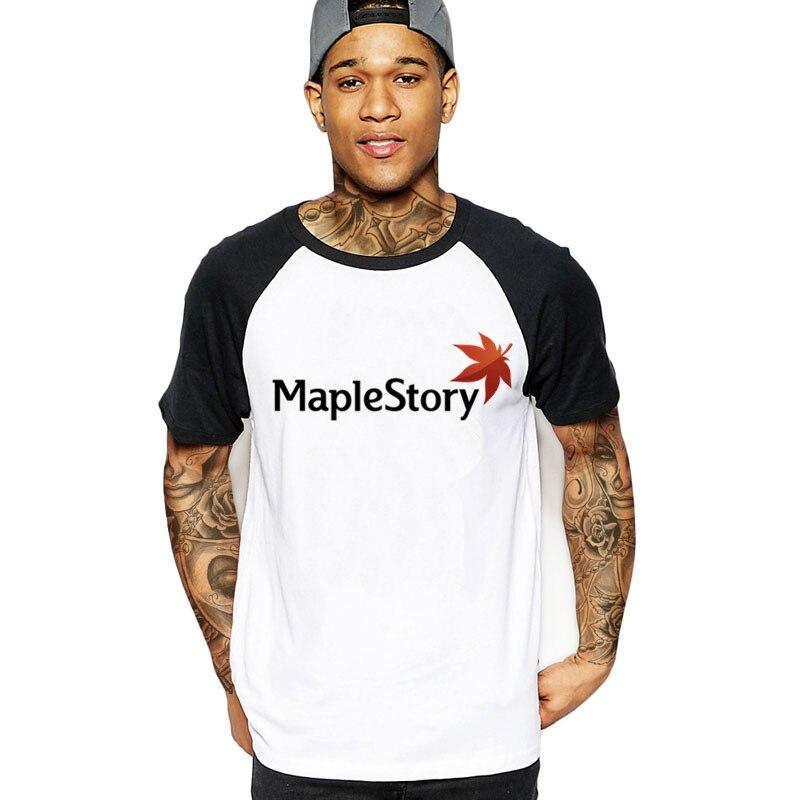 3aa685872 2018 funny MapleStory Canada flag Men cotton t shirts xxxtentacion harajuku  streetwear clothing white black male