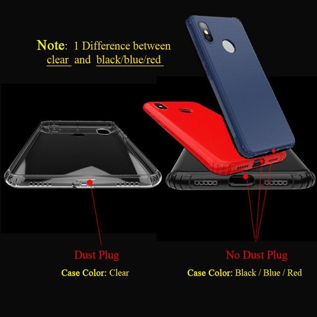 Image 2 - For Xiaomi Mi Max 3 Max3 Transparent Case Funda Xiaomi MiMax 3  Case Clear Silicon TPU Cover for Xiaomi MiMax3 Shockproof CaseFitted  Cases