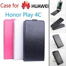 Высокое качество Роскошный кожаный чехол для Huawei Honor 4C играть флип чехол с честью 4 c играть мобильный телефон чехол телефон случаях