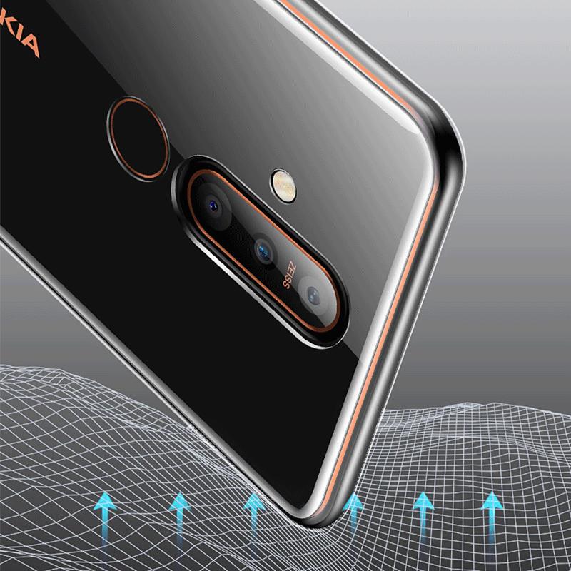 Nokia 8.1 Plus Case Nokia X71 Case Transparent Soft Case For Nokia 8.1Plus X71 X 71 TA-1172 NokiaX71 Silicone Phone Case 6.39